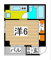 ロワール北浦和[3階]の間取り