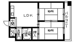 サンビオラ上新庄[3階]の間取り