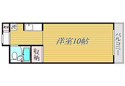 Kフラット新宿[3階]の間取り