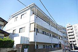 福岡県福岡市中央区平和5丁目の賃貸アパートの外観