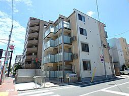 東京都大田区矢口2丁目の賃貸アパートの外観