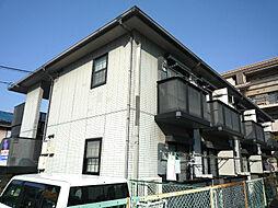 大阪府高槻市北園町の賃貸アパートの外観