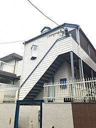 神奈川県川崎市多摩区東三田3丁目の賃貸アパートの外観