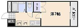 ハーモニー33[2階]の間取り