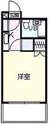 神奈川県厚木市水引2丁目の賃貸マンションの間取り