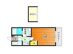 セジュールシャトレーA棟[2階]の間取り