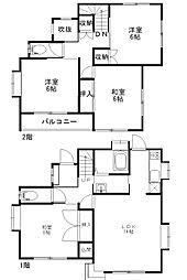 [一戸建] 埼玉県熊谷市江南中央3丁目 の賃貸【/】の間取り