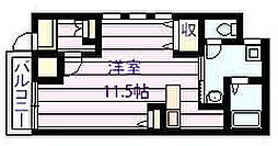 マービーハウス 1[1階]の間取り