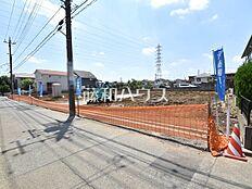 接道状況および現場風景 小平市小川町2丁目