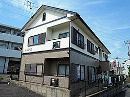 福岡県北九州市八幡西区下上津役元町の賃貸アパートの外観