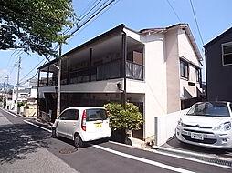兵庫県神戸市中央区神仙寺通2丁目の賃貸アパートの外観
