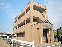 愛媛県伊予市米湊の賃貸マンションの外観