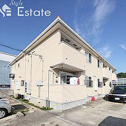 愛知県名古屋市天白区鴻の巣1丁目の賃貸アパートの外観