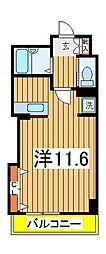コンフォート柏[6階]の間取り