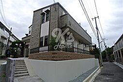 兵庫県神戸市須磨区須磨寺町2丁目の賃貸アパートの外観