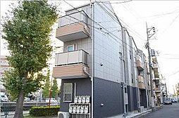 東京都大田区新蒲田2丁目の賃貸アパートの外観