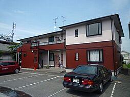 滋賀県大津市赤尾町の賃貸アパートの外観