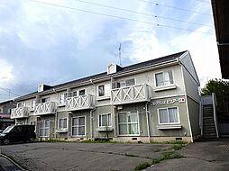 長野県岡谷市長地小萩3丁目の賃貸アパートの外観
