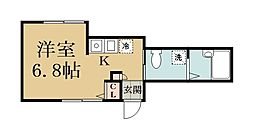 Y`s flat[101号室]の間取り