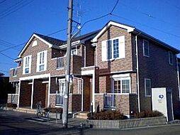 埼玉県東松山市大字東平の賃貸アパートの外観