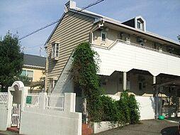 兵庫県神戸市灘区高羽町5丁目の賃貸アパートの外観
