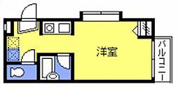 プレステージ新都心[105号室号室]の間取り