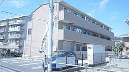 埼玉県熊谷市新堀新田の賃貸アパートの外観