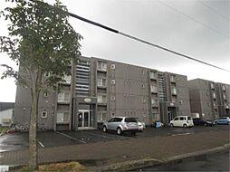 北海道札幌市北区百合が原4丁目の賃貸マンションの外観