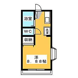 ディアビレッジ小舩 D棟[1階]の間取り