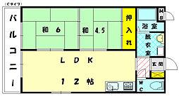 第2堺ビル[2階]の間取り