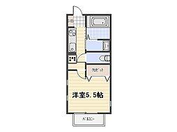 Maison Starlit[2階]の間取り