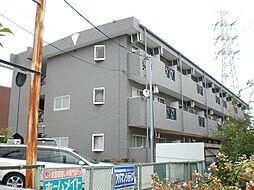 愛知県日進市梅森町北田面の賃貸マンションの外観