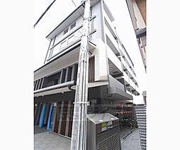 京都府京都市下京区溜池町の賃貸マンションの外観