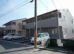 岡山県岡山市南区福富東2丁目の賃貸アパートの外観