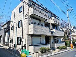東京都品川区小山台2丁目の賃貸マンションの外観
