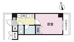 福岡県北九州市小倉北区明和町の賃貸マンションの間取り