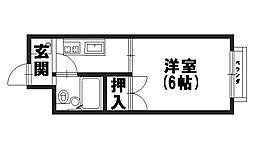 芙蓉ハイツ[2階]の間取り