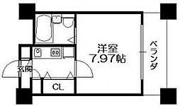 HF梅田レジデンスTOWER[1604号室]の間取り