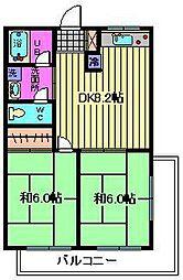 河本ビル[2階]の間取り