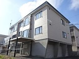 北海道札幌市東区北三十六条東3丁目の賃貸アパートの外観