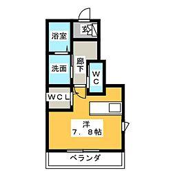 Ever gaden 千種II[1階]の間取り