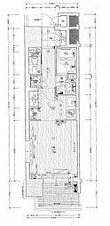 リーガル南堀江[3階]の間取り