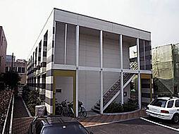 神奈川県川崎市中原区宮内2丁目の賃貸アパートの外観