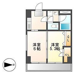 第2タジックビル[4階]の間取り