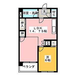 新宿ビル[2階]の間取り