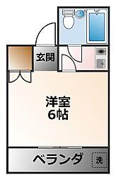 パール武庫川[1階]の間取り