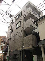 神奈川県川崎市中原区新城2丁目の賃貸マンションの外観