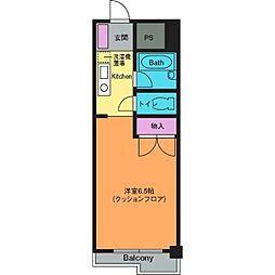 シャルマンコート[3階]の間取り