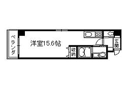 リンツ御池[4階]の間取り