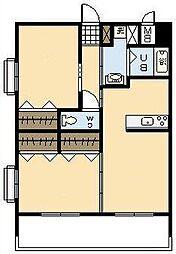 (新築)下北方町常盤元マンション[405号室]の間取り